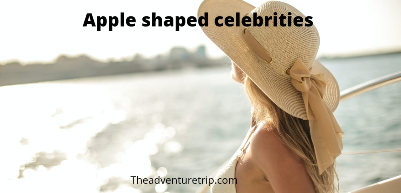 apple shaped celebrities