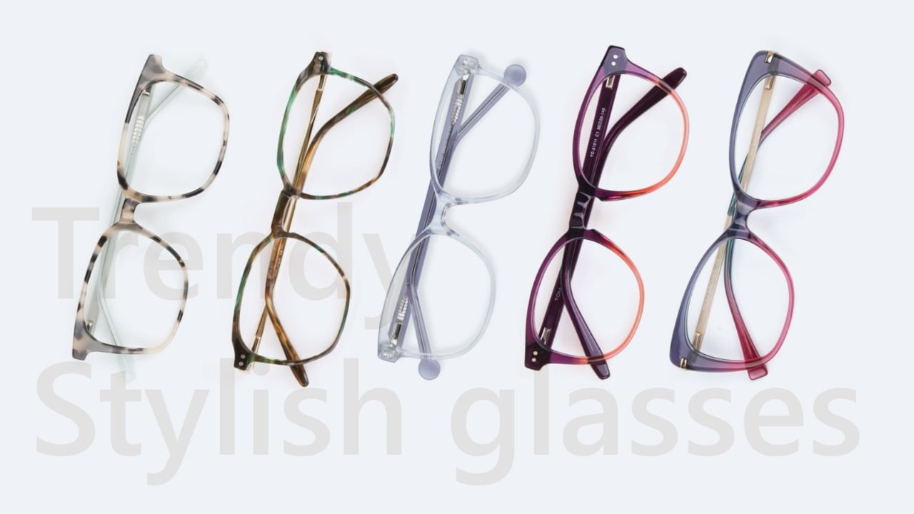 trendy stylish glasses